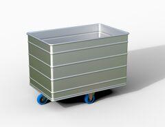 Bac simple aluminium CHARGER EN VRAC ET VOLUME